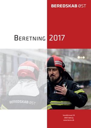 Illustration: forside til beretningen 2017