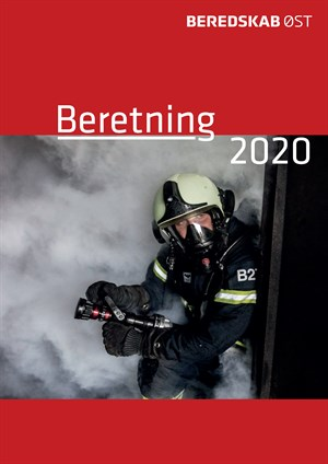 Illustration: forside til beretningen 2020