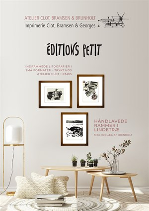 catalog with frames
